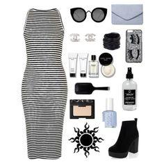 Black & White #polyvore