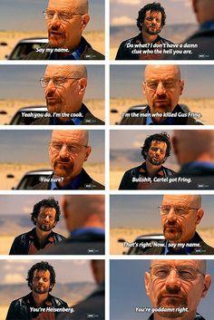 Breaking Bad: Say My Name.