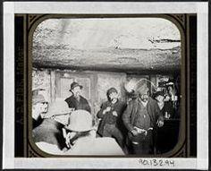 Black and Tan dive bar downtown 1890  Jacob Riis