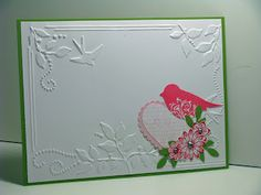 Sizzix folder, SU bird punch
