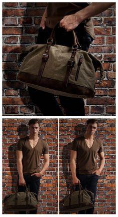 canvas shoulder bag/canvas leather bag/canvas bag design/canvas case/men's fashion/canvas art/canvas bag ideas/canvas messenger/gift ideas/duffle bag/travel bag/holdall