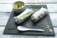 ricewraps with peanut dip // in the making by belen
