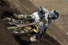 Kevin Strijbos at the Lausitzring for the 13th round of the World Motocross Championship on his Rockstar Energy Suzuki RM-Z450 #MX