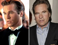 Men of the -- Val Kilmer Celebrities Before And After, Celebrities Then And Now, Young Celebrities, Celebs, Hot Actors, Hottest Actors, Val Kilmer, Stars Then And Now, Back In The Day
