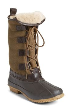 Tory Burch 'Argyll' Lace-Up Boot (Women) available at #Nordstrom