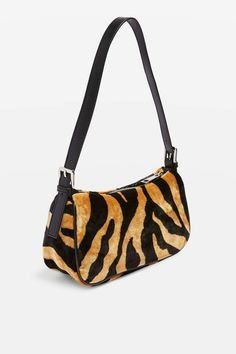 be37d8194 Kenya Tiger Shoulder Bag - Bags & Purses - Bags & Accessories - Topshop  Leather Shoulder