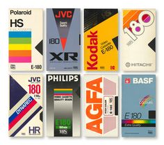"""""""Let's all take a moment to appreciate blank VHS cassette packaging design trends. Gfx Design, Retro Design, Icon Design, Logo Design, Design Trends, Vhs Cassette, Vhs Tapes, Retro Aesthetic, Retro Art"""