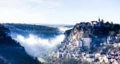 10 Beautiful Towns You Need To Visit In The South Of France Rocamadour Visit France, South Of France, Rocamadour France, Weather In France, Holidays France, Paris City, Southern Europe, Backpacking Europe, Central Europe