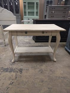 """This is a perfect little writing desk. You could use it to do your work on or as a side table or accent table. What would you use it for?  The dimensions are 41.5"""" L, 27"""" W, 29"""" H. SOLD!! for $175"""