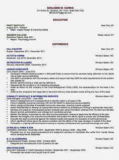 Writing A Perfect Curriculum Vitae Sample Cv Hznrkdk  Example  Pinterest  Sample resume
