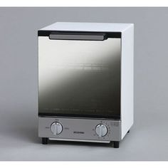 アイリスオーヤマ ミラーオーブントースター/MOT-012 縦型 縦型 Toaster, Kitchen Appliances, Products, Diy Kitchen Appliances, Home Appliances, Domestic Appliances, Sandwich Toaster, Gadget