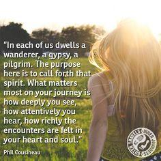 People Around The World, Around The Worlds, The Encounter, Pilgrim, Gypsy, Purpose, Spirituality, Felt, Journey
