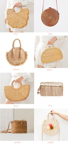 Weekend Finds: Wicker Bags