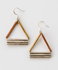 Modern Angles Earrings - Noonday Collection