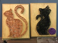 Kitty cats string art