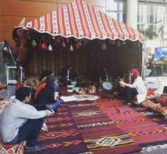 Saudi exhibit day at Guy Concordia University. Exchange talk listen illuminate.
