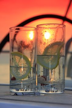 Sunset through the Gin and Tonics at the Iles de Lerins, Cannes. Yacht Wedding, Sailing Holidays, Love Boat, Mans World, Luxury Yachts, Afghanistan, Cannes, Sunsets, Gin