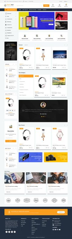 ElectroMart - The Electronics Store Template is a good choice for selling #Fashion,#Electronics, #Art, #webibazaar #webiarch #Bicycle, #Furniture, #design #template #flower #kidswear #Cake #Furniture #Flower #Food #appliances #bag #ceramic #cosmetic #fashion #flower #coffee #undergarments #home #bodysuits #typography #beachwear #WebsiteShoppingCart #lingerie #eCommerce #jewellery #organic #pet-store #power-tool #resturant #shoes #watch