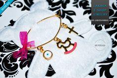 Pink Enamel Pony Carousel Baby Brooch Sterling Silver Gold Handmade Jewelry Cross Eye Mama Happy Shower Day Religious Baptism Newborn Girl #horse #baby #girl #enamel #brooch #silver #jewelry #motherday #personalised #joyas #carousel #pony #mylittlepony #mujer #woman #moda #jewellery #horse #γυναικα #μωρο #νεογεννητο #δωρο #παραμανα #καρφιτσα #αγγελακι #κοριτσι