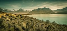 Mt Cook - Only got to spend one afternoon here unfortunately but the weather gods were smiling on us this day. Mt Cook, New Zealand.