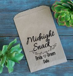 Hey, I found this really awesome Etsy listing at https://www.etsy.com/listing/506397460/custom-favor-bags-midnight-snack-bag