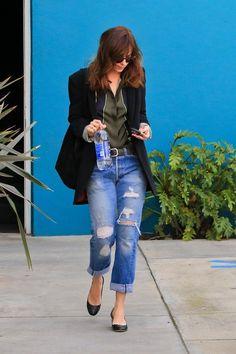 Dakota today in West Hollywood   #FSOG