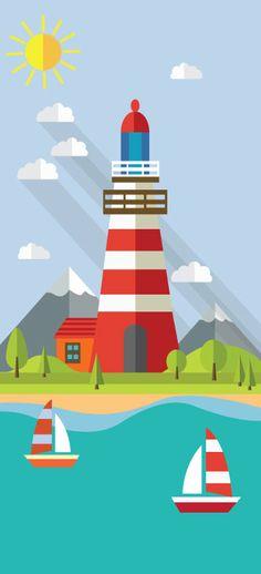 lighthouse-Wall by satmack on DeviantArt