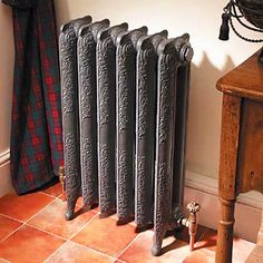painting cast iron radiator gray color