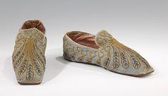 Evening Slippers 1835-1845 The Metropolitan Museum of Art