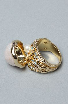 Disney Couture The Little Mermaid Collection Hidden Pearl Ring #2