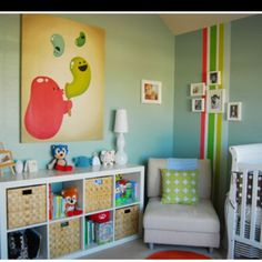 Apartment Therapy kids room.