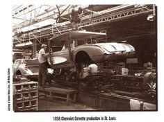 1958 Corvette assembly