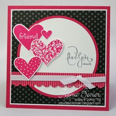 Love You Much Friend by TBevier - Cards and Paper Crafts at Splitcoaststampers