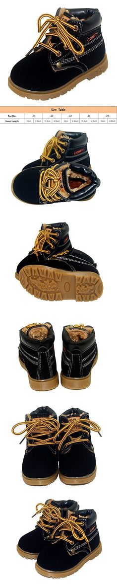 3da809a83c8 Happy Cherry Infant Retro Winter Lace Up Boots Ladies Martin Ankle Boot  Work Hiking Trail Biker