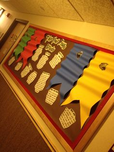 Harry potter bulletin board! @LauraFanning