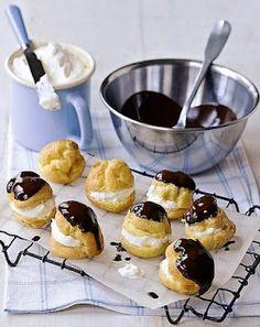 Sweet & Tiny : Cream puffs tutorial