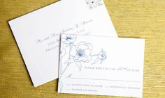 Wedding Reply Card #rsvp #wedding #sorellepaper