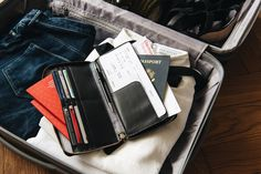 Travel Wallets with space for all of your travel documents.