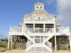 House vacation rental in Kitty Hawk, North Carolina, United States of America from VRBO.com! #vacation #rental #travel #vrbo