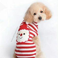 Jersey Navideño para perros pequeños. 🎅