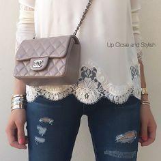 Chanel mini square classic flap