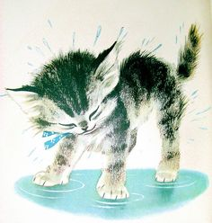 Katie the kitten. Book by Kathryn Jackson, illustrated by Alice and Martin Provensen, 1949.