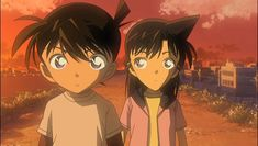 Shinichi and Ran was child.