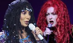 Cher and her DTK Tour opener Cyndi Lauper take the stage in Buffalo http://dailym.ai/1mC4lUE