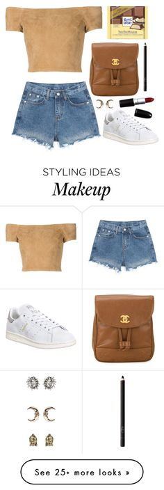 """""""Unbenannt #1996"""" by avonearth on Polyvore featuring Alice + Olivia, adidas, Chanel, Topshop and Organic Glam"""