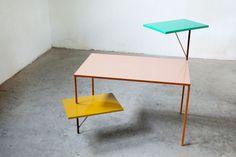 3 pieces desk | Muller Van Severen / theapartment.dk