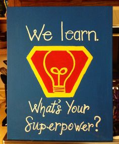 Superhero theme. Decoration idea. | Every Hero Has a Story. CSLP 2015…