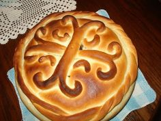 Serbian Recipes, Hungarian Recipes, Serbian Food, Serbian Christmas, Holiday Bread, No Bake Pies, Freshly Baked, Bread Baking, Finger Foods