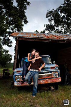 Old Barn.  Old Truck.  New Hotness. by Tony Harrell,