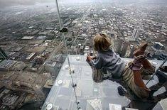 Balcony on floor 103 in Chicago
